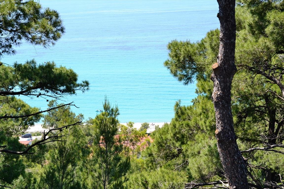 Вилла собственный пляж греция